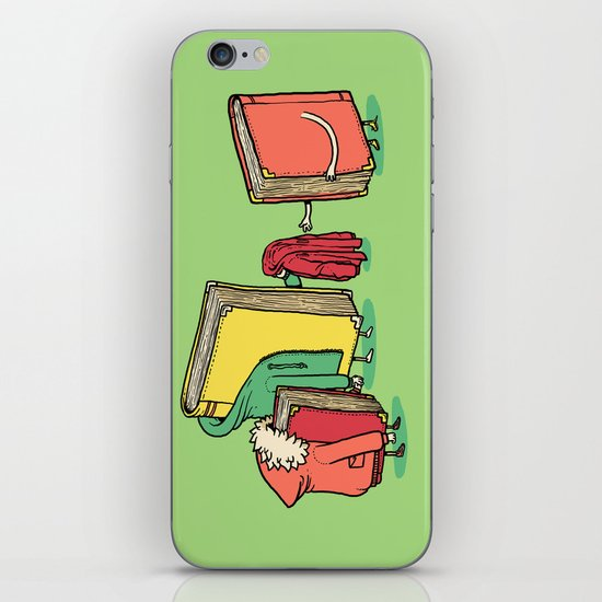 Book Jackets iPhone & iPod Skin
