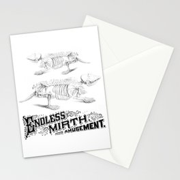 Endless Mirth and Amusement Stationery Cards