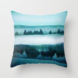 Cold 1 Throw Pillow