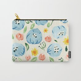 Morning Boldness flower pattern Carry-All Pouch