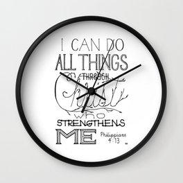 I Can Do Wall Clock