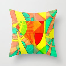 Tropical Farm 4 Throw Pillow