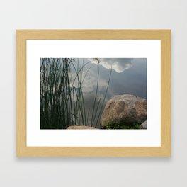 Cloud Water Framed Art Print