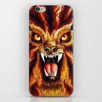 werewolf iPhone & iPod Skins featuring Werewolf by BluedarkArt