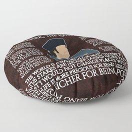Poldark Floor Pillow