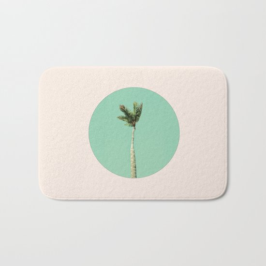 The Palm Life Bath Mat