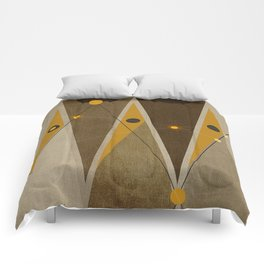 Geometric/Abstract 1 Comforters