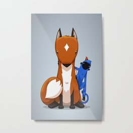 Hungry & Foolish Metal Print