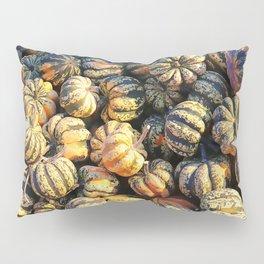 Stripey Pumpkin Cluster Pillow Sham