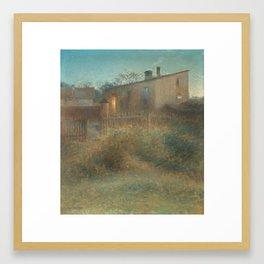 NILS KREUGER,  (DUSK). Framed Art Print