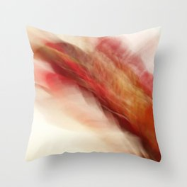 Floral Abstract II- JUSTART © Throw Pillow
