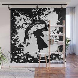 Wander Woman Splatter Wall Mural