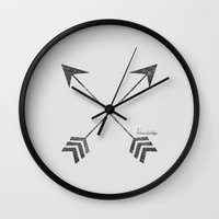 friendship Wall Clocks featuring Friendship by Adel