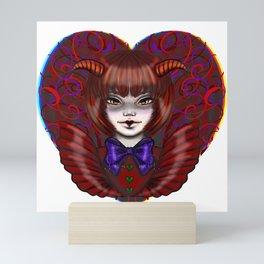 Devil Love  Mini Art Print