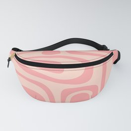 Palm Springs Midcentury Mod Abstract Pattern in Pink Fanny Pack