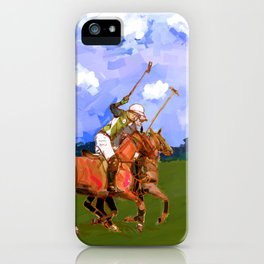 poloplayer in bavaria iPhone Case