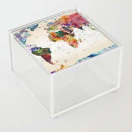 map Acrylic Box