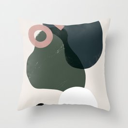Domio Abstract 2 Throw Pillow