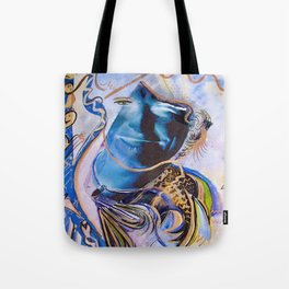 The Blues Face Tote Bag