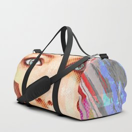 my android lover... bit her face off... can u fix her? Duffle Bag