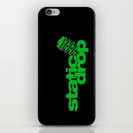 Static drop v5 HQvector iPhone Skin