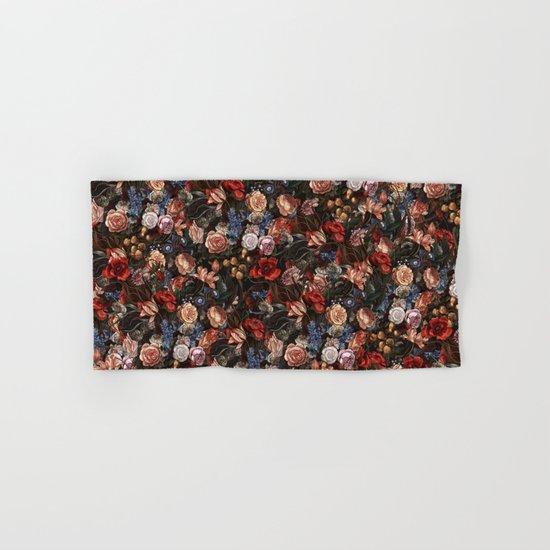 Vintage Summer Floral Hand & Bath Towel