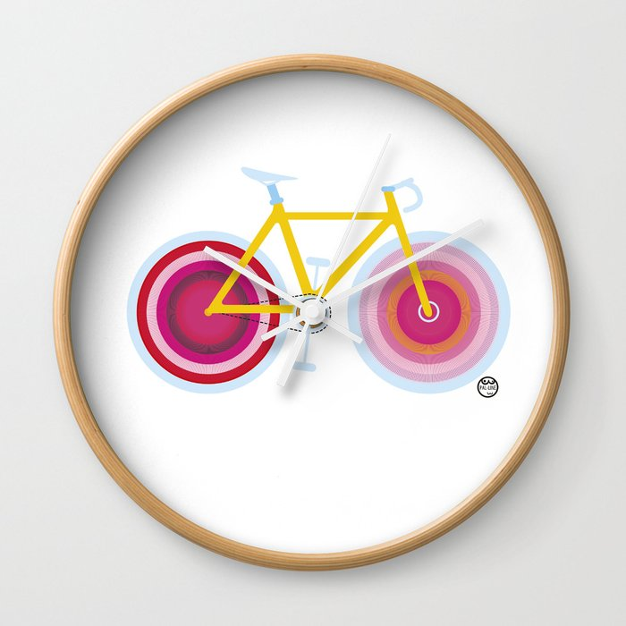 Pal-Bike 1 Wall Clock