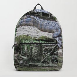 The Smiling Gator Backpack