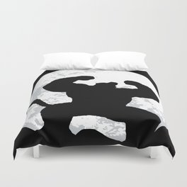 Night Monkey Duvet Cover