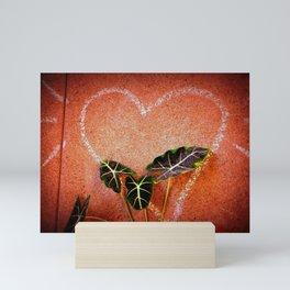Concrete Jungle Love Mini Art Print