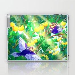 The seasons | Summer birds Laptop & iPad Skin