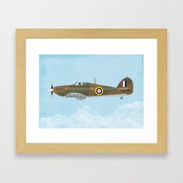 Hawker Hurricane Framed Art Print
