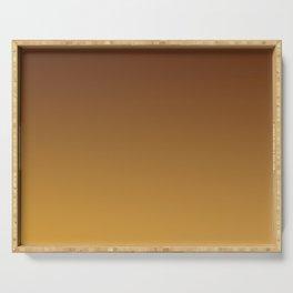 MARIGOLD - Minimal Plain Soft Mood Color Blend Prints Serving Tray
