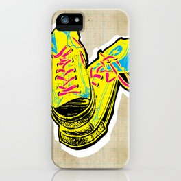 Cashing in on the cons iPhone Case