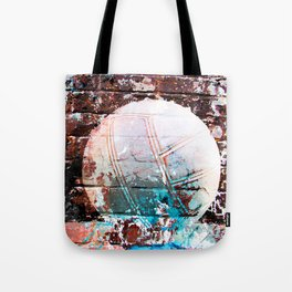 Modern Volleyball Art Tote Bag