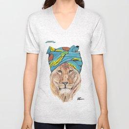 Lioness Unisex V-Neck