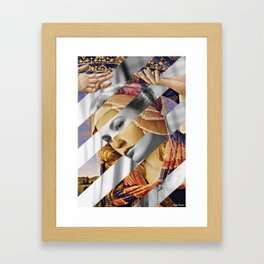 "Botticelli's ""Madonna of the Magnificat"" & Grace Kelly Framed Art Print"