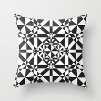 compass Throw Pillows featuring Compass by Vadeco