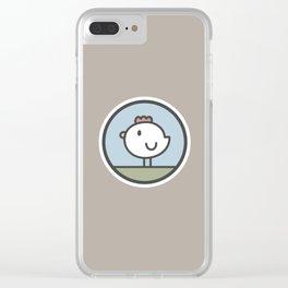 Free Range Chicken Clear iPhone Case