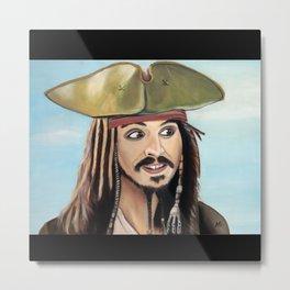 Pirata Metal Print