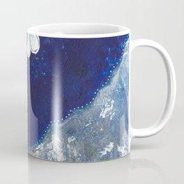 Sassy Girl Royal Blue and White Coffee Mug