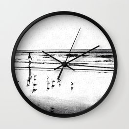 The Surfer Wall Clock