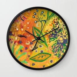 Immersed in Shallow Waters, Part 9 Wall Clock