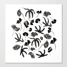 Plastic jungle pattern Canvas Print