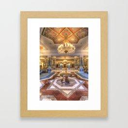 Ciragan Palace Istanbul Framed Art Print