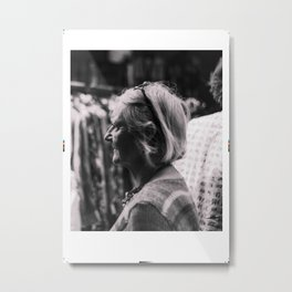 spectator-monochrome Metal Print