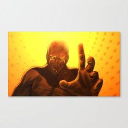 Alien Abduction Canvas Print