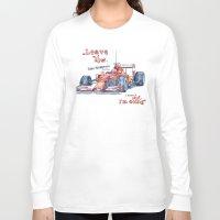 f1 Long Sleeve T-shirts featuring F1 Ferrari-Kimi Räikkönen by dareba