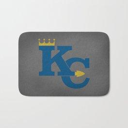 Kansas City Sports Blue Bath Mat