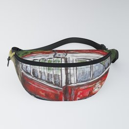 Abandoned Trolley Fanny Pack